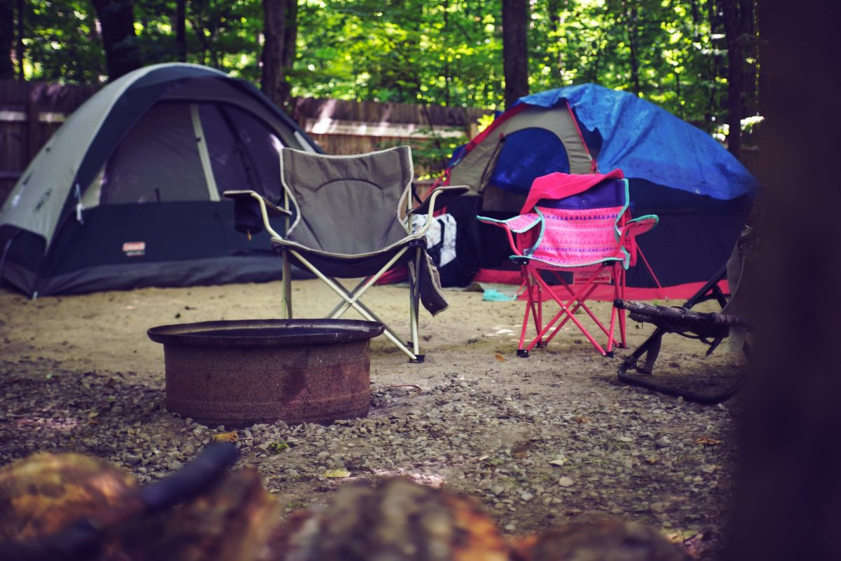 Setting up an efficient campsite